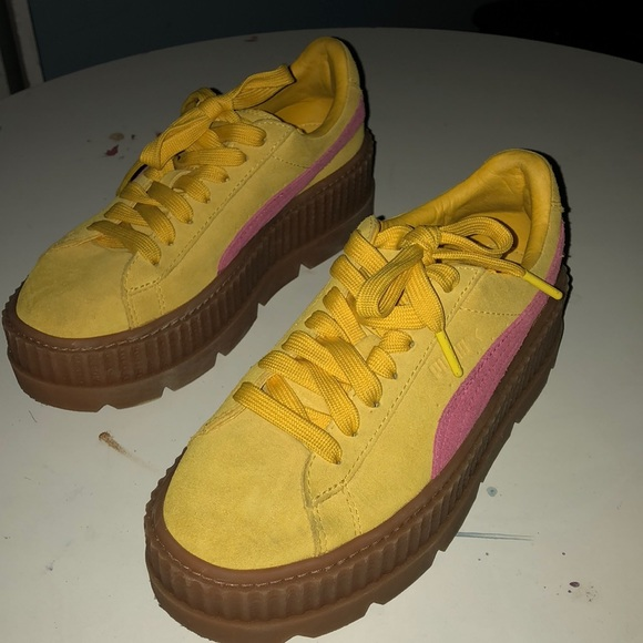 new arrival 8557e bdfac YELLOW PUMA CREEPERS